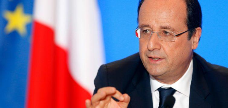 (Рус) Олланд заявил, что Путин всеми силами затягивал перемирие на Донбассе