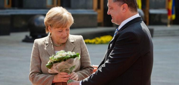 (Рус) Первого ноября Меркель посетит Украину
