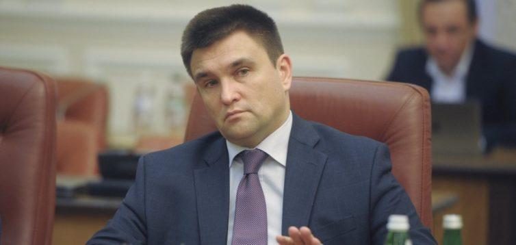 Клімкін заявив, що Росія блокує введення миротворців на Донбас