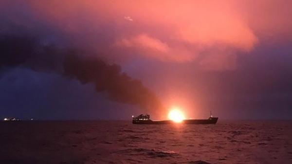 Судна, які загорілися біля Керченської протоки, незаконно перевозили газ в Сирію
