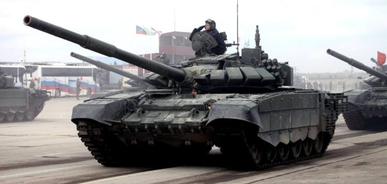 В зоні ООС українські військові знищили унікальний російський танк. ВІДЕО